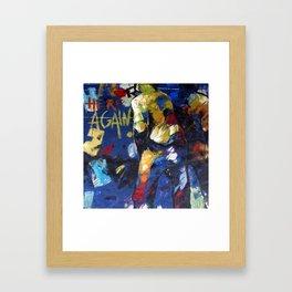 Wee-Wee Framed Art Print