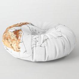 NUDEGRAFIA - 20 Floor Pillow