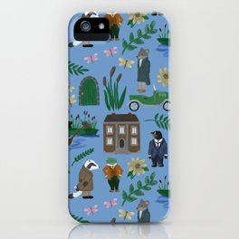 Literary Homes iPhone Case