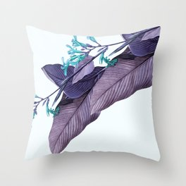 Lavender J'adore Throw Pillow