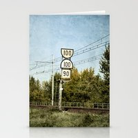 the 100 Stationery Cards featuring 100 100 90 by Damien Saillet