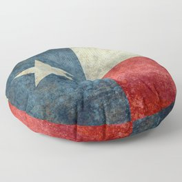 State flag of Texas, Lone Star Flag of the Lone Star State Floor Pillow