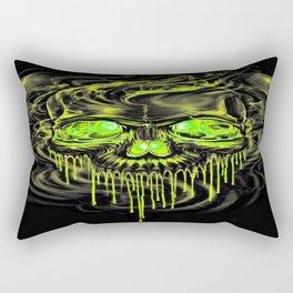 Glossy Yella Skeletons Rectangular Pillow