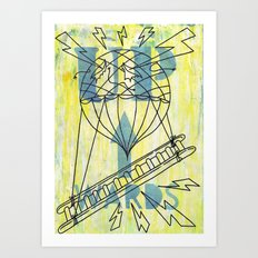 Onwards......and....... Art Print