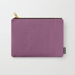 Sugar Plum - solid color Carry-All Pouch