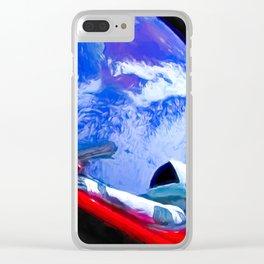 Tesla's Starman Clear iPhone Case