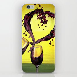 Lovers Picnic iPhone Skin