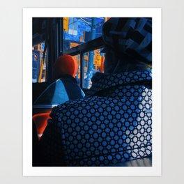Passengers Art Print