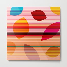 summerstripes Metal Print