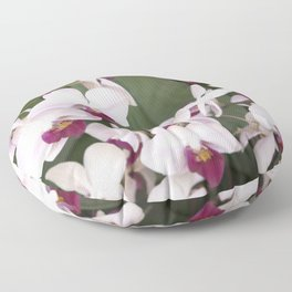 Longwood Gardens Orchid Extravaganza 1 Floor Pillow