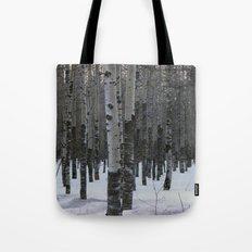 Whispering Aspen Tote Bag