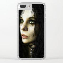 Hope In the Dark Clear iPhone Case