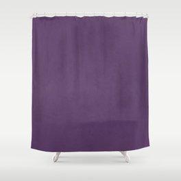 Elegant lilac lavender faux leather texture Shower Curtain