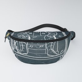 Space mobile suit Fanny Pack