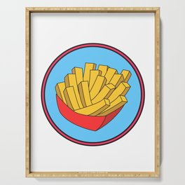 Awesome Trend Design Fryday Tshirt Fryday Serving Tray
