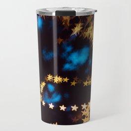 Starry Night Stars Bokeh Night Photography Travel Mug