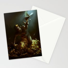 The Hunger of Midas Stationery Cards