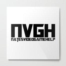 NVGH Logo Metal Print