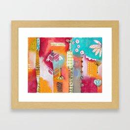 Inez Framed Art Print