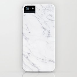 Gray Rich Marble iPhone Case