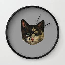 Rescue The Cat Wall Clock