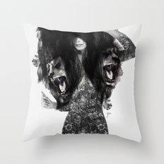 Lion #2 Throw Pillow