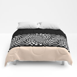 Chess pattern long Comforters