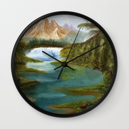Overwhelm Wall Clock