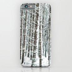 snowy day  Slim Case iPhone 6s