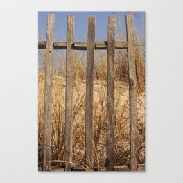 Fence to the Sky! Canvas Print