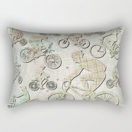 Bike Brooklyn Rectangular Pillow