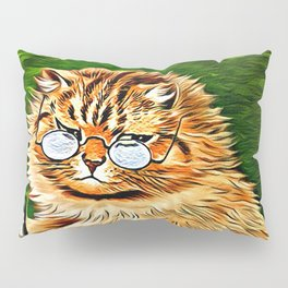 ORANGE TABBY CAT - Louis Wain's Cats Pillow Sham