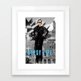 GYPSY LIFE Framed Art Print