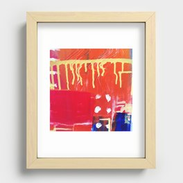 Rain 02 Recessed Framed Print