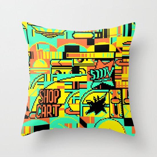 0068 (2013) Throw Pillow