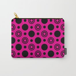 Hot Pink Nights Carry-All Pouch