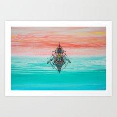 Landscape of my mind Art Print