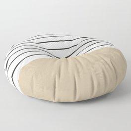 MARINERAS CREAM Floor Pillow