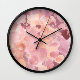 Rosy Tones Wall Clock