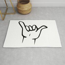 Shaka \ Hang Loose Art Print Rug