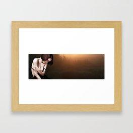 A Quiet moment Alone? Framed Art Print
