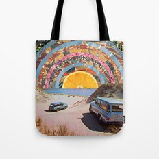 Orange sunset Tote Bag