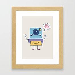 Instant Happy Framed Art Print
