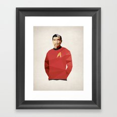 Polygon Heroes - Scotty Framed Art Print