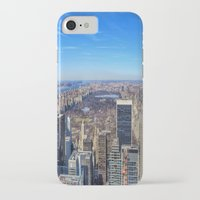 central park iPhone & iPod Cases featuring Central Park by Christine Workman