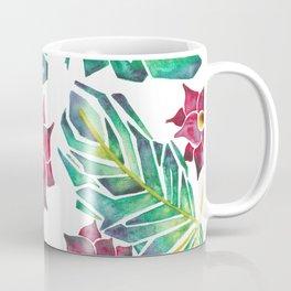 tropical watercolor floral Coffee Mug