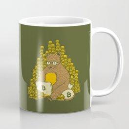 Bitcoin Miner T-shirt Bear Coffee Mug