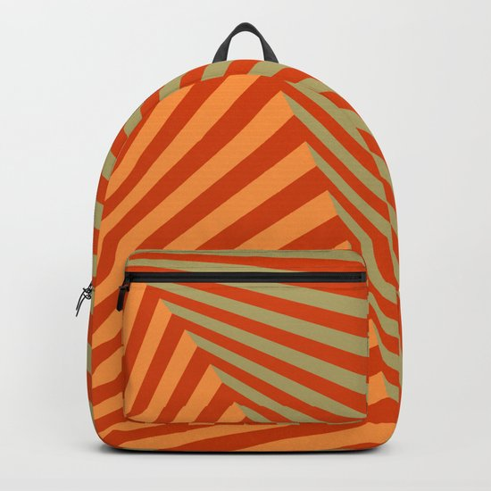 geometric composition 06 Backpack