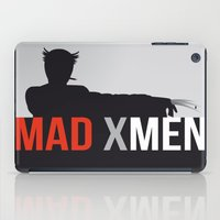 x men iPad Cases featuring MAD X MEN by Alain Bossuyt