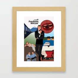 Ian Fleming's From Russia, With Love Framed Art Print